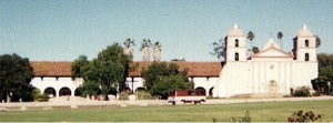 Santa Barbara Mission, Santa Barbara, California